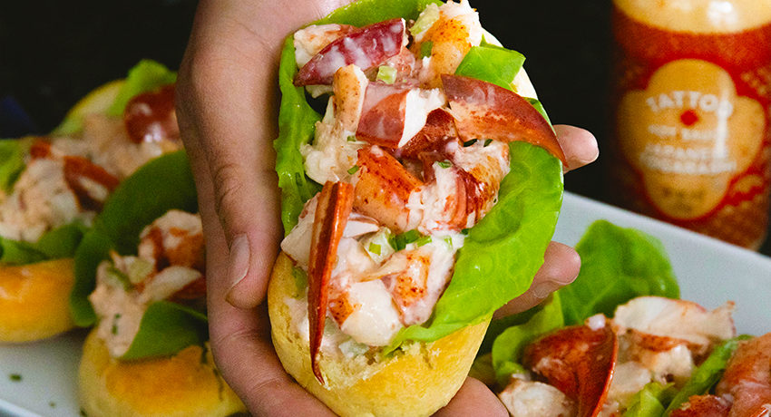 Lobster Rolls with Japanese Togarashi